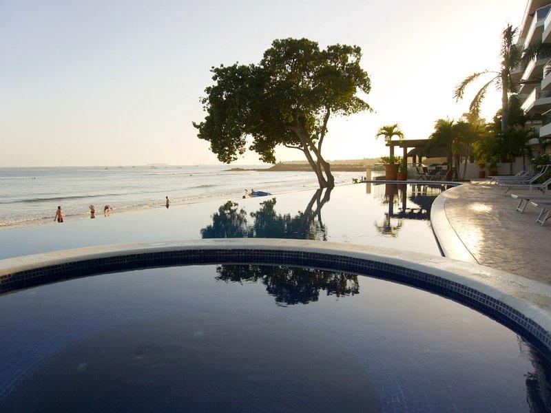 Beach Front 1 Br Condominium Located In Beautiful Punta De Mita, vacation rental in Punta de Mita