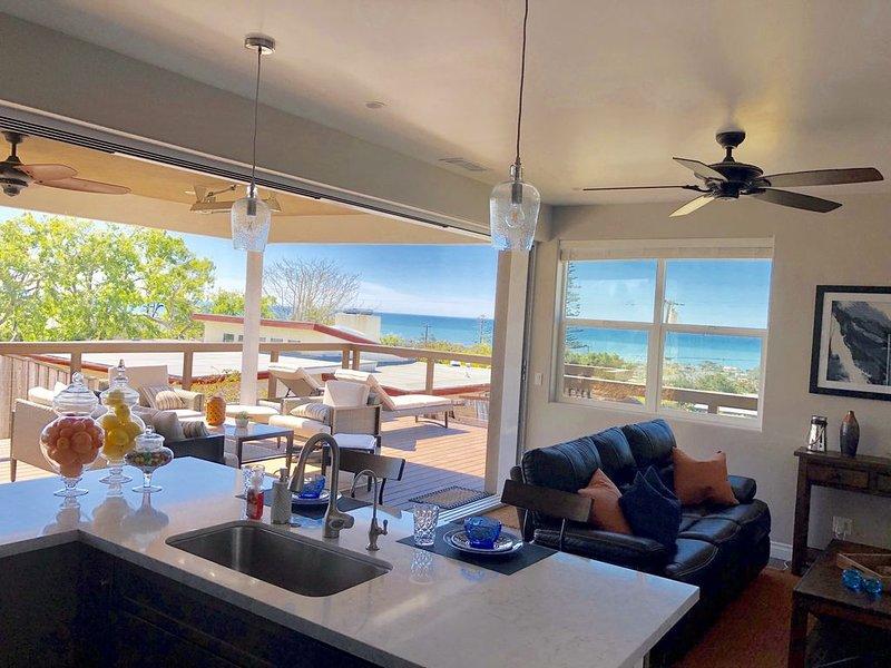 Beautiful Oceanview, new construction Solana Beach property, built in 2019., alquiler de vacaciones en Solana Beach