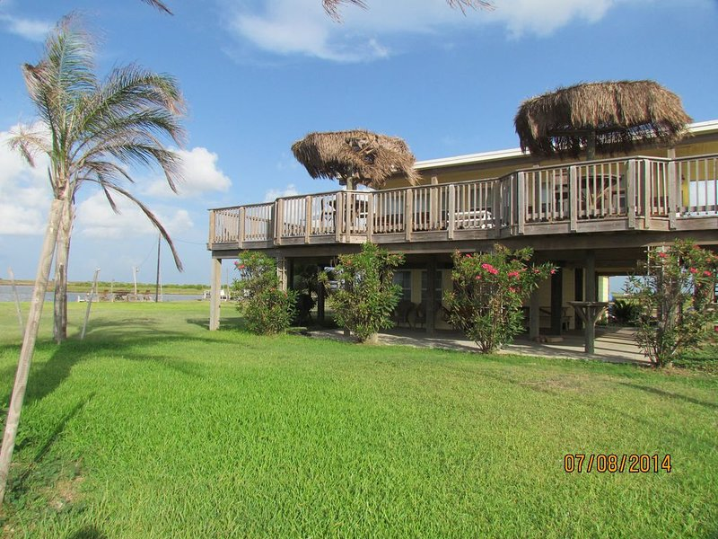 Pelican Point-Amazing Gulf View Location Overlooking The ICW And Gulf Of Mexico, location de vacances à Sargent