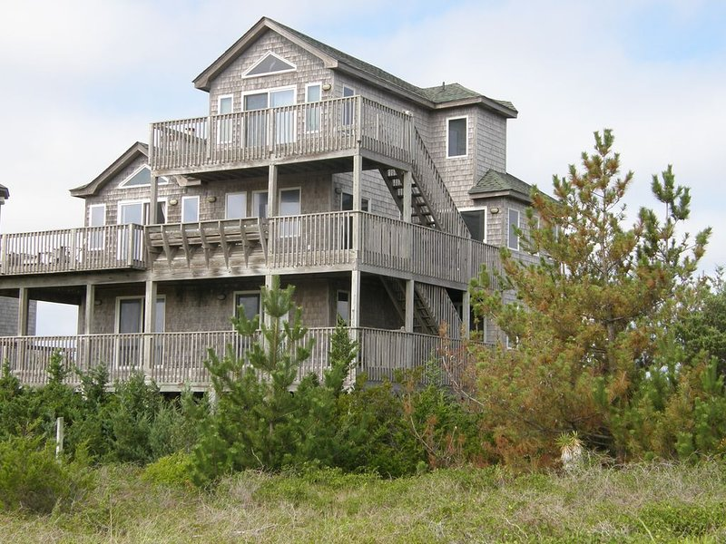 View of house from dune