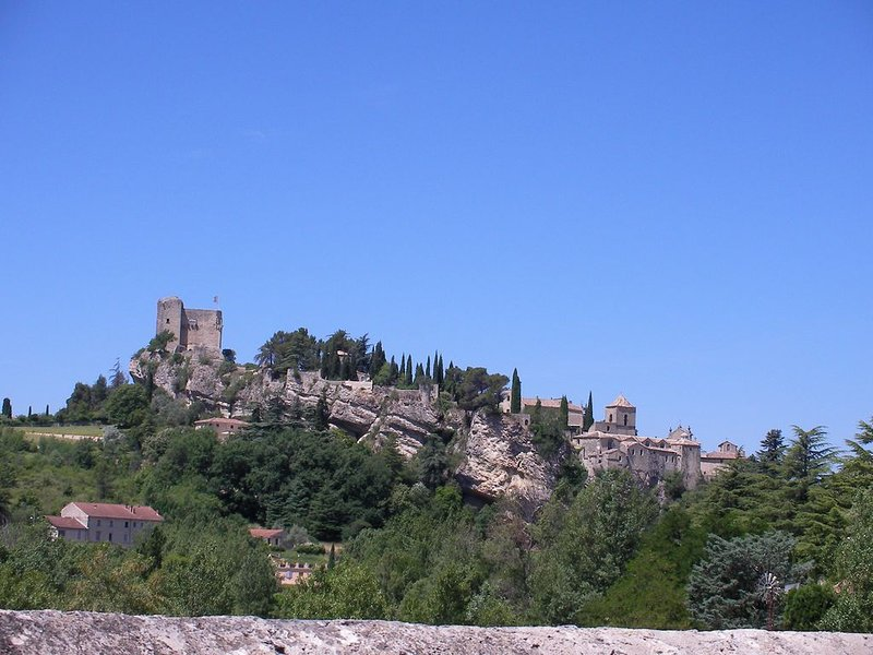 Medieval charm and soaring vistas in the heart of Provence: what's not to love?, holiday rental in Crestet