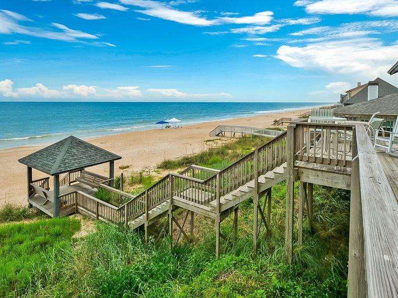 Sea Spray Beach House on the Ocean in South Ponte Vedra, holiday rental in Ponte Vedra Beach