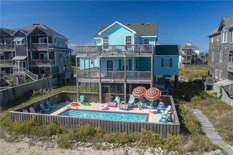 Look 'N Sea OCEANVIEW w/Htd Pool&HotTub, RecRoom, Pets, holiday rental in Hatteras
