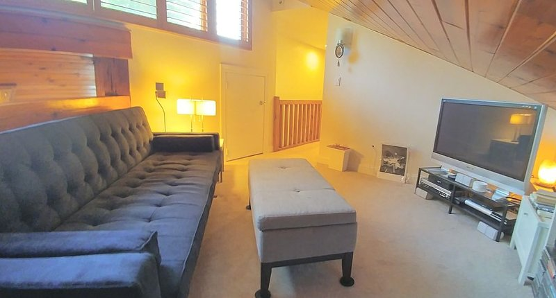 Entertainment Loft with Netflix, Prime Video,  and more.