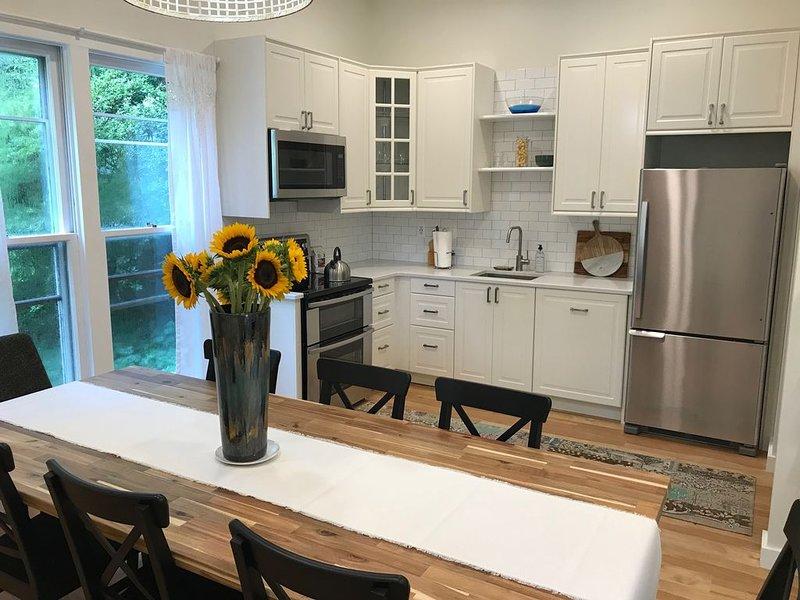 NEW light filled 1500 sq ft apt, lg kitchen, expansive family rm, 2 bedrm,1 bath, Ferienwohnung in McLean