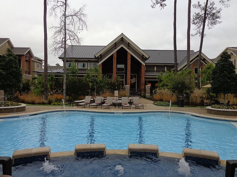 Gorgeous Pool View 1 Bedroom / 1 Bath Condo in The Woodlands**, location de vacances à Spring