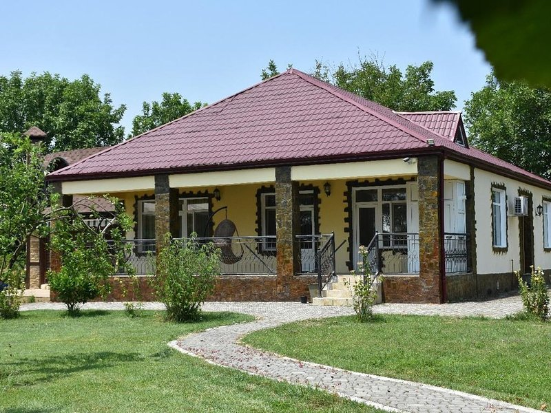 Eco Villa Gabala - Excellent Garden, holiday rental in Qabala