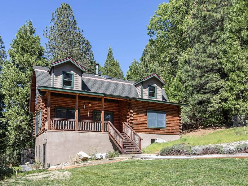 Modern Log Cabin on Cascade Canal, 5 minutes to Downtown Nevada City, vacation rental in Penn Valley