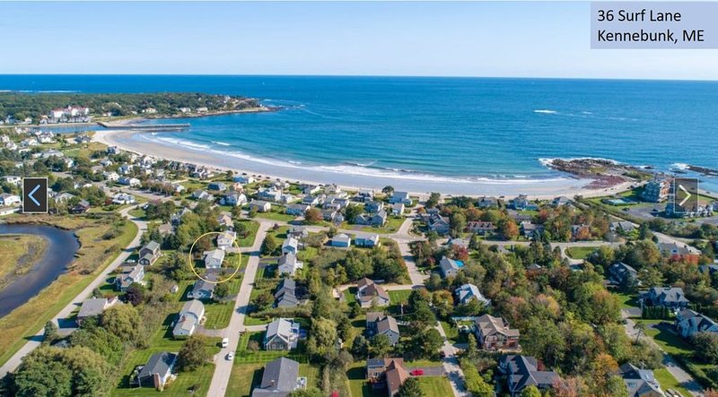 Steps from the beach, holiday rental in Kennebunk