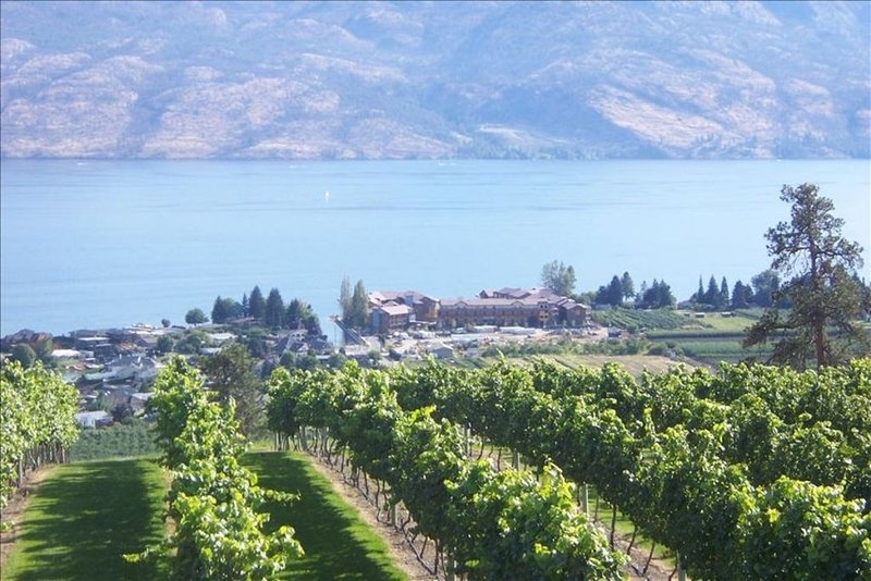 Lakefront Luxury in front of world class wineries, casa vacanza a West Kelowna