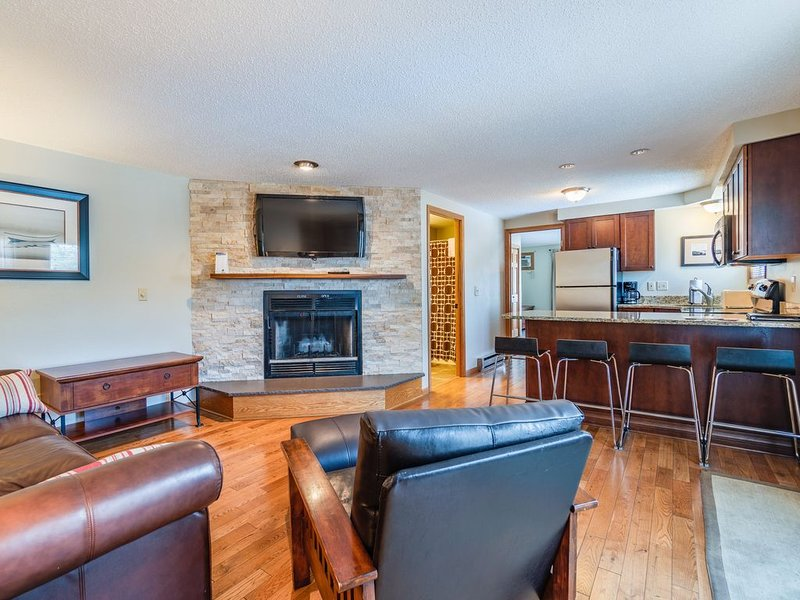 «NEW» Poolside Condo w/ views of Lake Delton- Family, Friends or Couples getaway, vacation rental in Wisconsin Dells