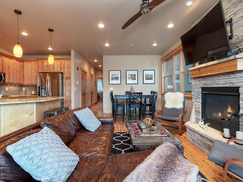 Mountain Condo Central Location 3 Bedrooms, 2 Baths, Sleeps 6, location de vacances à Frisco