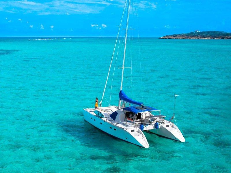 Sailing yacht Catamaran Yemaya, location de vacances à Spartochori