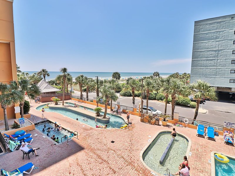Feel Like You're in the Islands w/ a View and Pools at Room 307!, holiday rental in Myrtle Beach