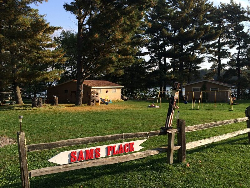 Sam's Place on Long Lake:  4 Vacation Cabins for Sportsman & Family, vacation rental in Sarona