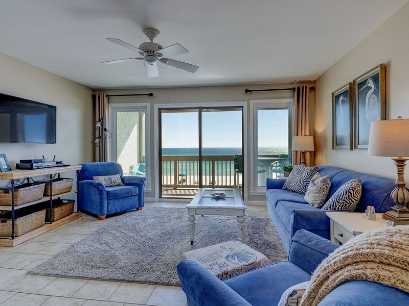 Ramsgate Harbour #20, Sleeps 6, Two Balconies, Pool, West End Of PCB,Reno 1/2019, holiday rental in Carillon Beach