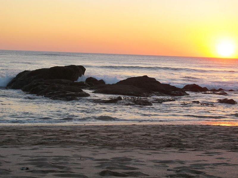 Por do sol - praia da lagosta