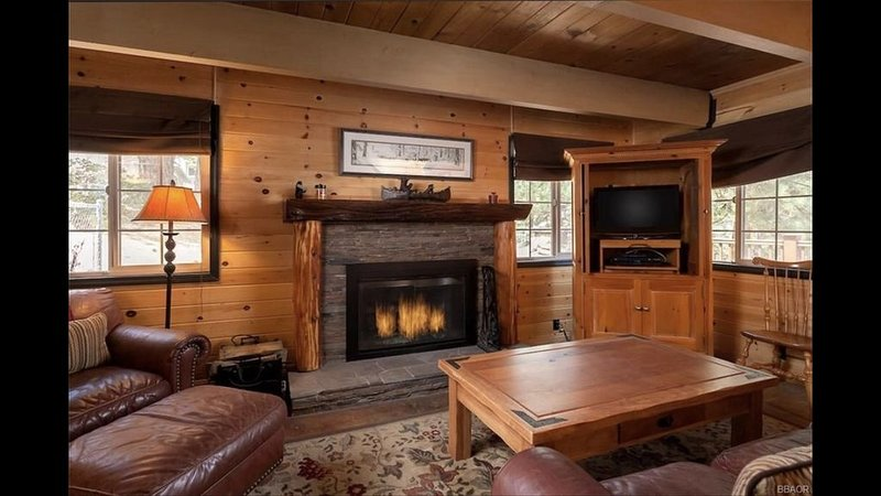 Welcome to our Griggsly Bear Lodge-across from the lake and minutes from town!, location de vacances à Cherry Valley