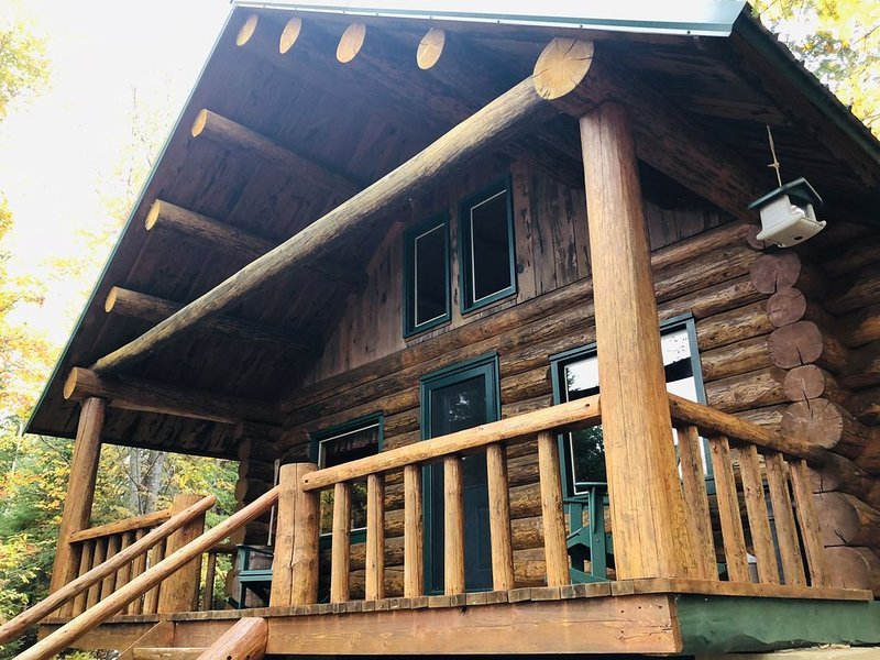 Northern Maine's Finest Log Cabins for Hunting and Snowmobile Enthusiasts, holiday rental in Portage