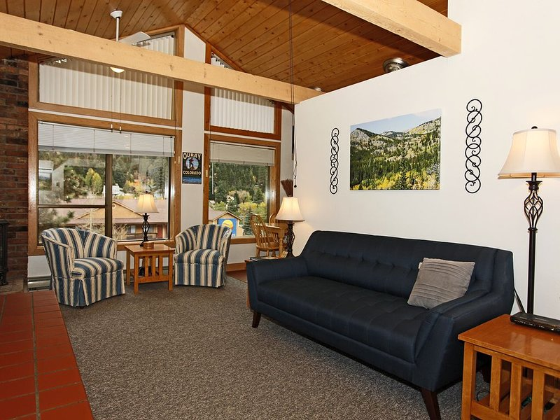 Renovated Condo - Block from Main Street - Air Conditioning, holiday rental in Ouray