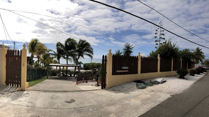 Complete Beach House W/Swimming Pool Overlooking Caribbean Sea, holiday rental in Guanica