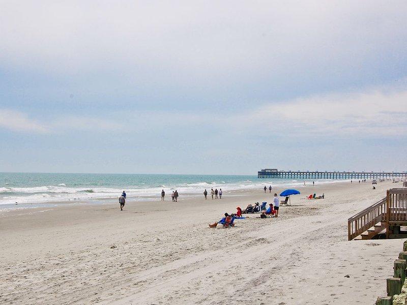 Jetée de Garden City Beach