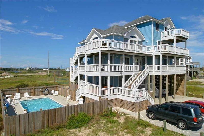 Trip Around the Sun OCEANVIEW in Hatteras w/Htd Pool&HotTub, RecRoom, Pets, holiday rental in Hatteras