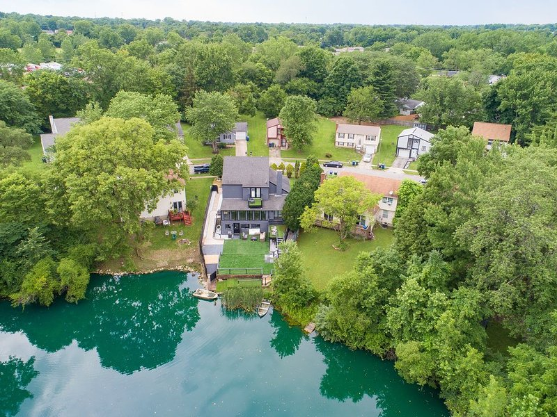 ★Easton Waterfront: Boat, Fish, Theatre, Barcade★, holiday rental in Gahanna