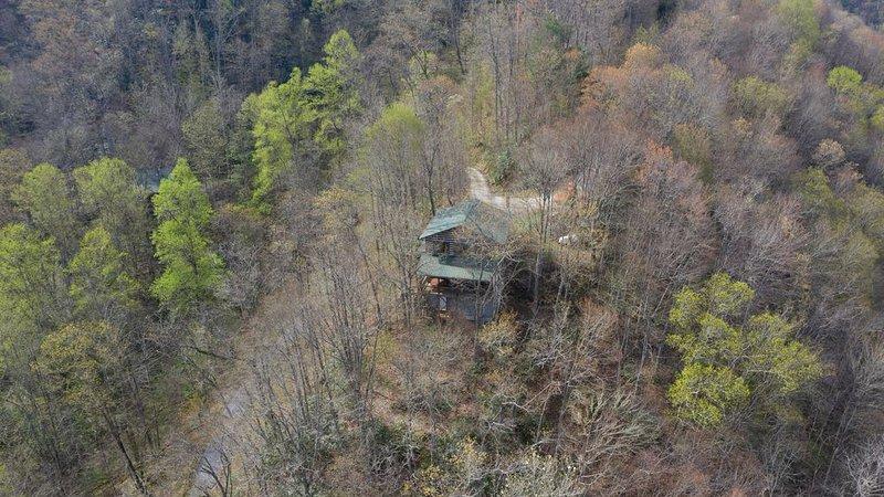 Smoky Mountain Cabin, Amazing Views, Open Floor Plan!, casa vacanza a Topton