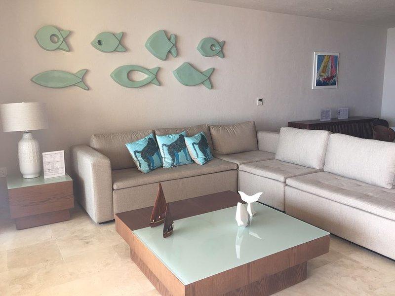 Beatiful New Luxury Condo With Ocean View To Bahia De Banderas, holiday rental in La Cruz de Huanacaxtle