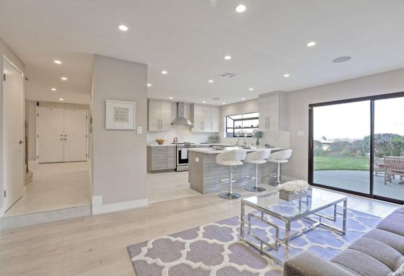 Grab a casual breakfast on the counter stools in the Spacious Kitchen