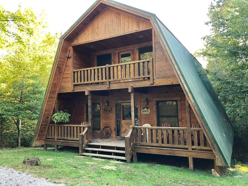Big South Fork,3 Bedroom, 2 Bath Cabin, NATURES PARADISE, Equipped for horses!!! – semesterbostad i Huntsville