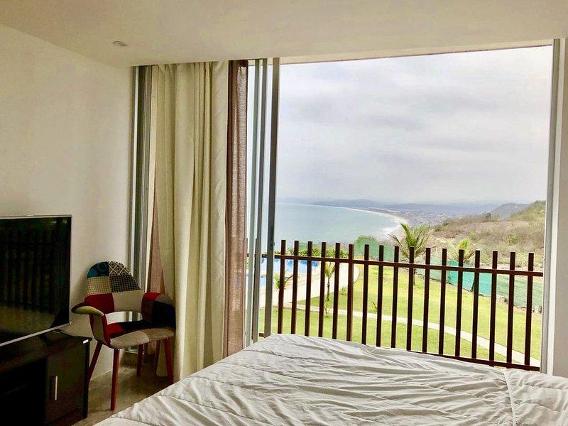 Suite Vista al Mar y Montañas, holiday rental in Ayangue