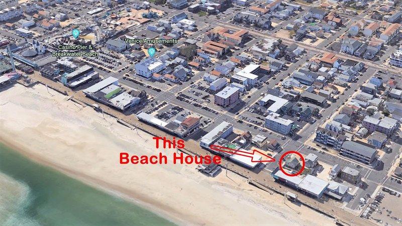 Ocean View Newly Renovated Beach Block Retreat #2, alquiler de vacaciones en Seaside Heights