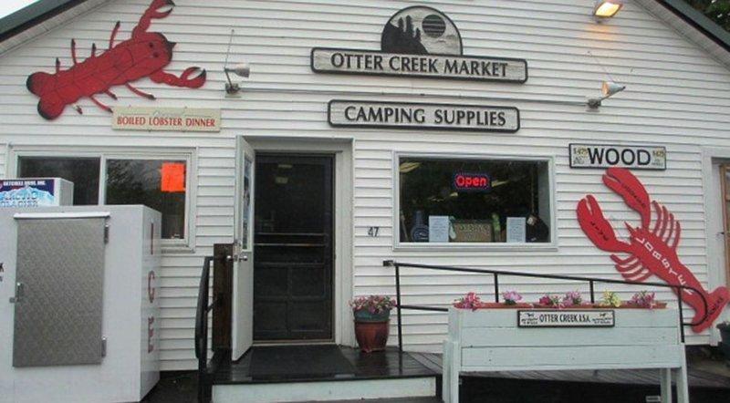 The Otter Creek Market, a short walk