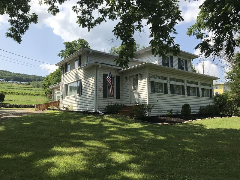 A Quiet Place Overlooking Bully Hill Vineyard., vacation rental in Hammondsport