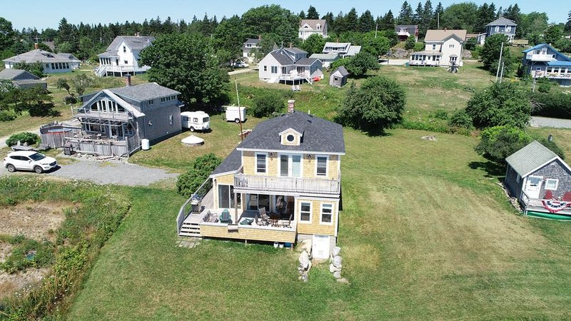 House on Water's Edge in Jonesport, Maine, alquiler de vacaciones en East Machias