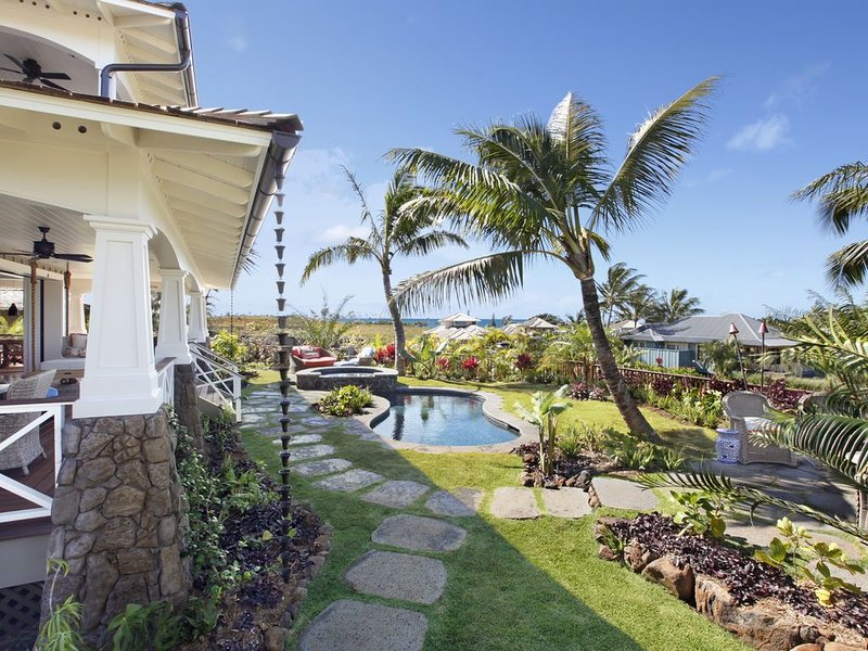 Kukuiula Makai Cottage #29: Well-Appointed, Ocean-View Home w/ AC, Pool & Spa!, holiday rental in Kalaheo