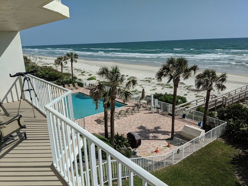Beautiful ocean style.  Daily Atlantic sunrise, no extra charge., vacation rental in Port Orange