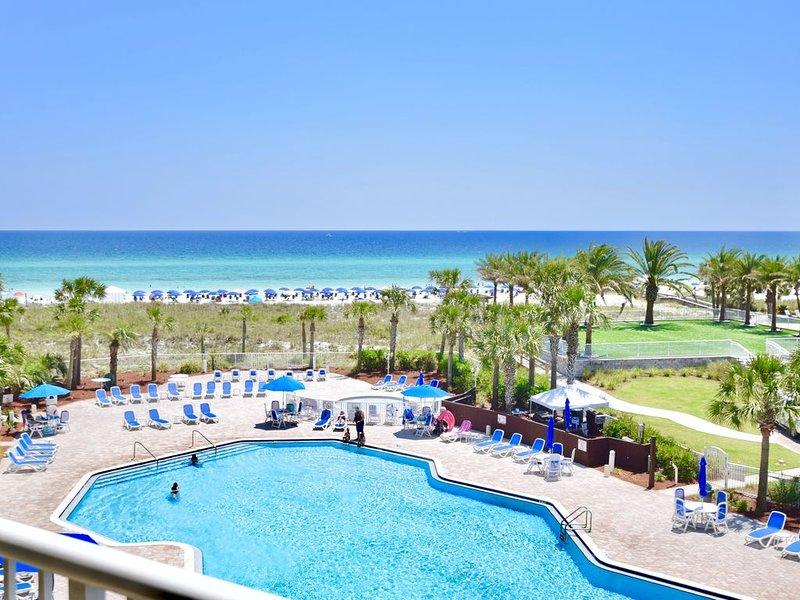 Destin West Gulfside 411 ~Free Beach Service! ~Premium Unit! ~Great View!, holiday rental in Fort Walton Beach