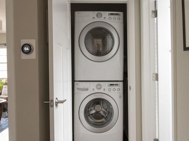 Nest Thermostat und Waschmaschine / Trockner mit kostenlosem Reinigungsmittel