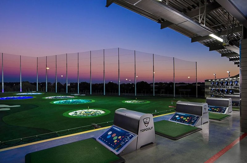 TOP GOLF IS WITHIN WALKING DISTANCE