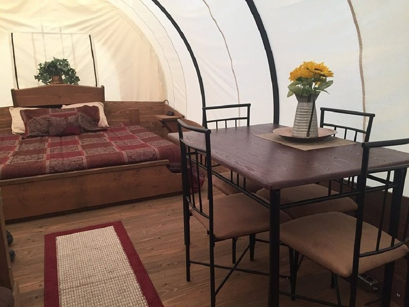 Glamping Back in Time – semesterbostad i Huntsville