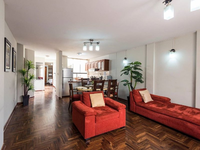Newly Listed Two bedroom apartment for rent, vacation rental in Chorrillos