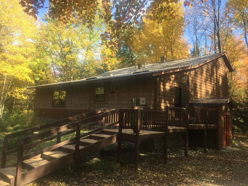 The River House in Fall Colors