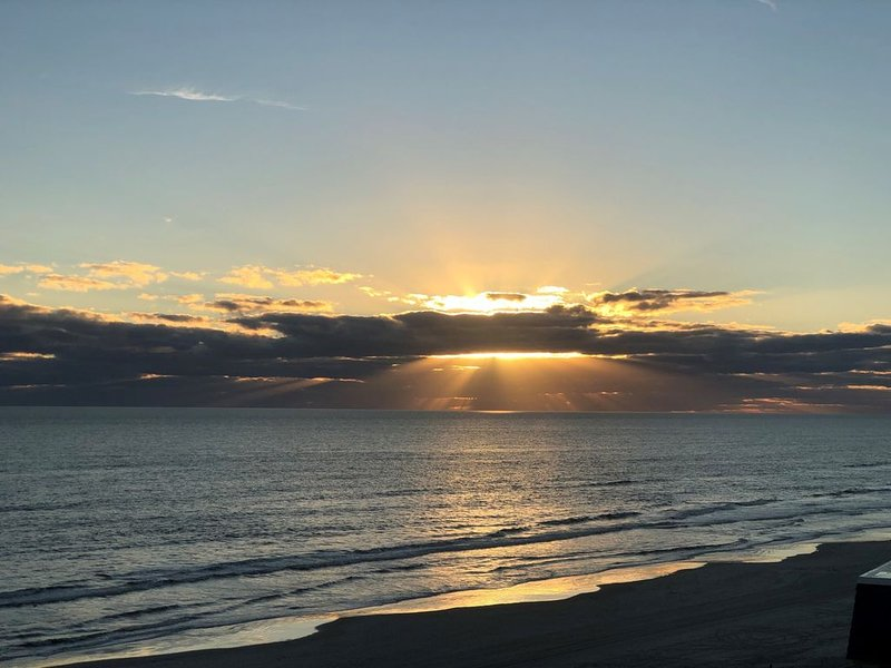 Beautiful Direct Ocean Front View, holiday rental in New Smyrna Beach