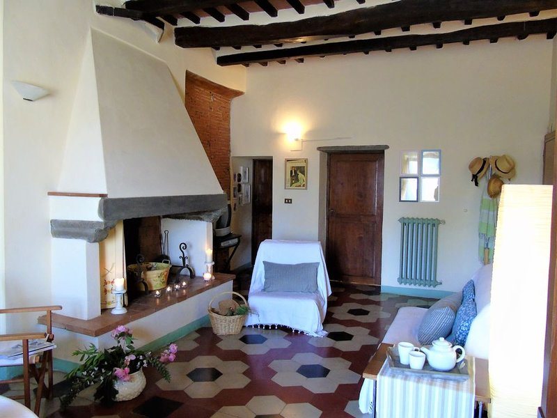 Authentic village property! Ideal for 2 x couples, small families & friends, casa vacanza a Bientina