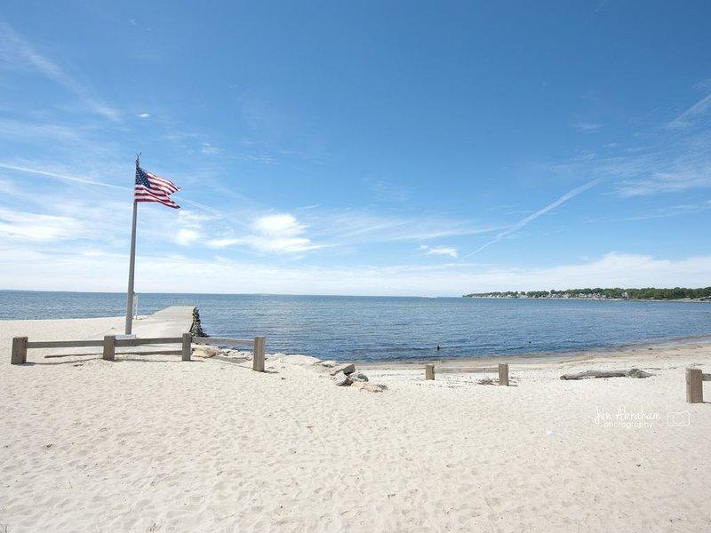 Vista a la playa - (No desde la cabaña)