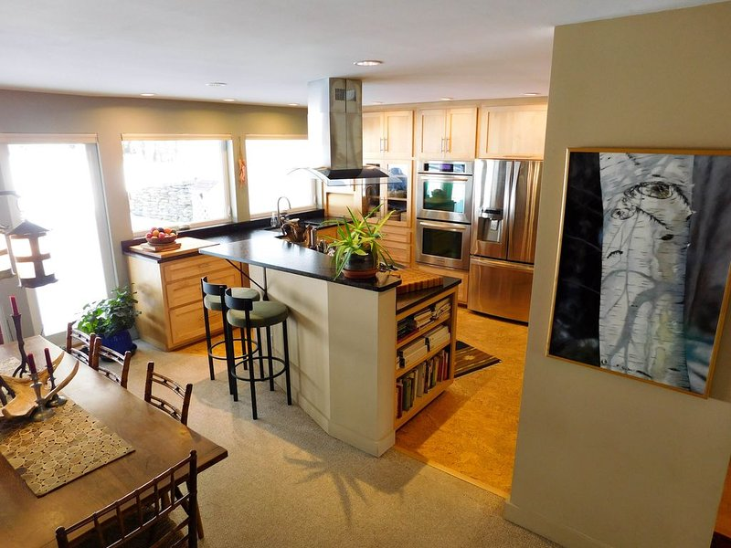 Mad River Valley Condo with Gourmet Kitchen, 2 Bedrooms, comfortably sleeps 6, alquiler de vacaciones en Fayston