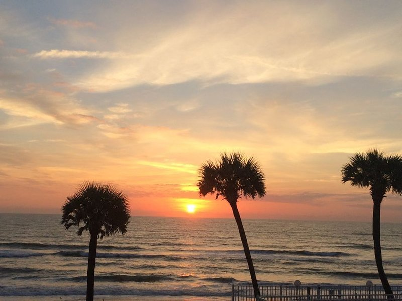 MAY SPECIAL RENOVATED BEACHFRONT CONDO  $1900 for 2 weeks or $2450 MONTH OF MAY!, holiday rental in Ormond Beach